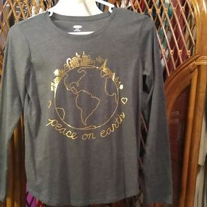 Old Navy Girls Graphic Tee - size 14 XL